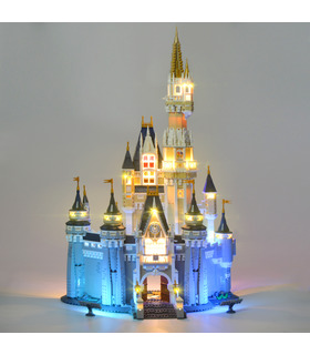 Light Kit For Disney Castle LED Lighting Set 71040