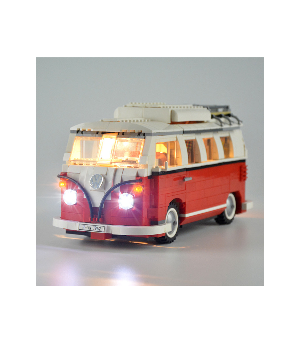 CUSTOM LIGHT UP KIT FOR LEGO 10220 VW T1 CAMPER VAN USB AA POWER BANK NEW