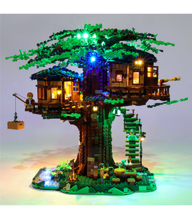 Light Kit For Tree House LED Lighting Set 21318