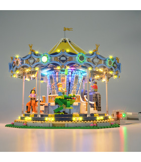 Light Kit For Creator Carousel LED Lighting Set 10257