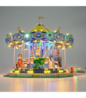 Light Kit For Creator Carousel LED Lighting Set 10257