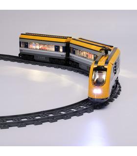 Beleuchtungsset für LED-Beleuchtungsset 60197 für den Personenzug