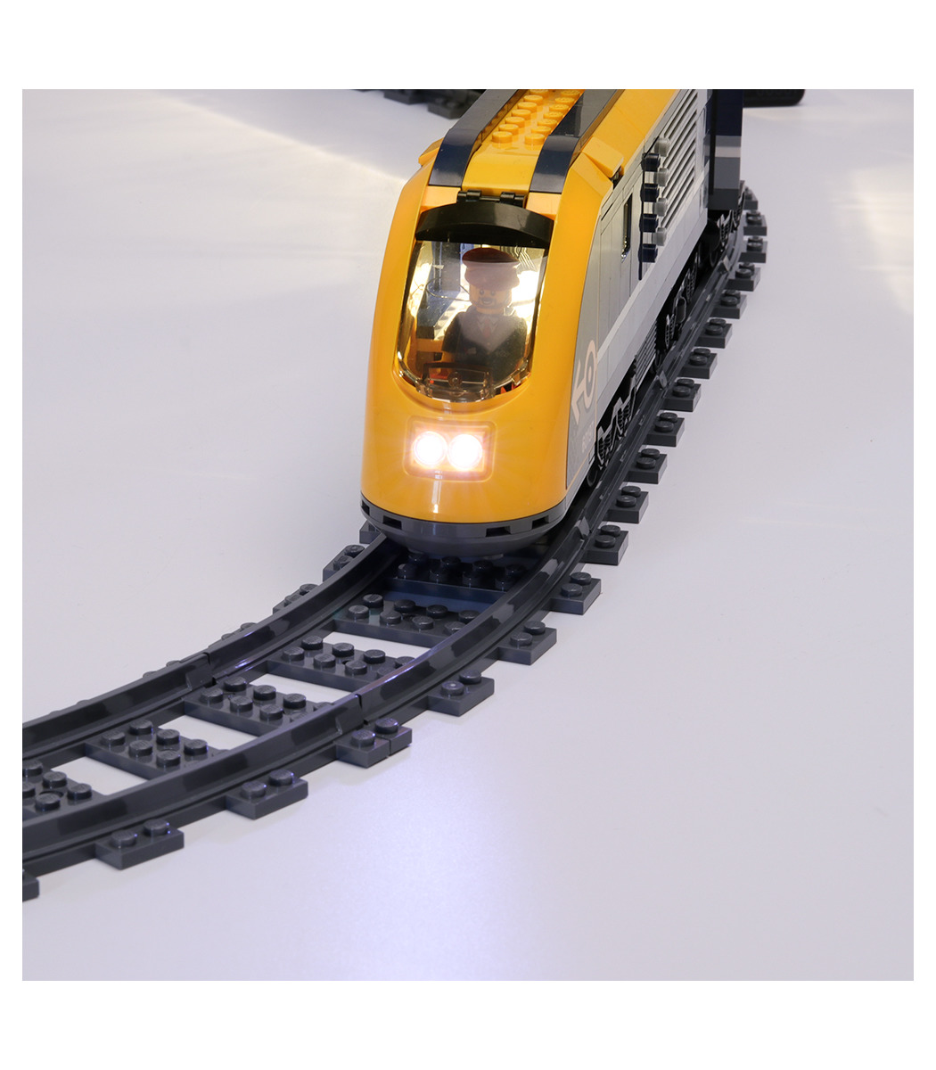 USB LED Light Lighting Kit For LEGO 60197 Passenger Train Building Block
