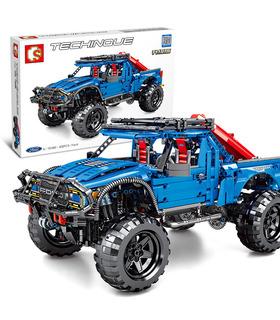 Sembo 701990 Neues Ford F-150 Raptor Truck Bausteine Spielzeugset