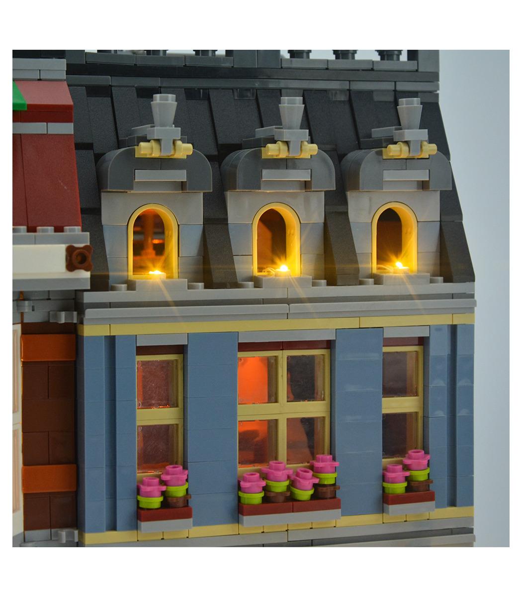Lighting Kit for LEGO Creator 10218 Pet Shop LED LIGHT KIT ONLY
