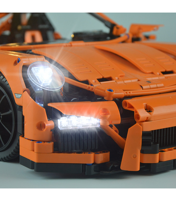 Light Kit For Porsche 911 GT3 RS LED Lighting Set 42056