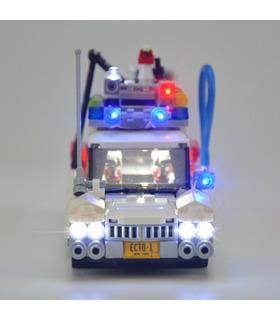 Kit d'éclairage Pour Ghostbusters Ecto-1 Set de projecteurs à LED 21108