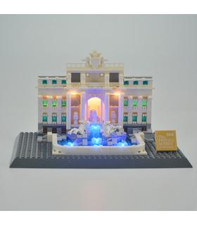 Kit d'éclairage Pour la Fontaine de Trevi Set de projecteurs à LED 21020