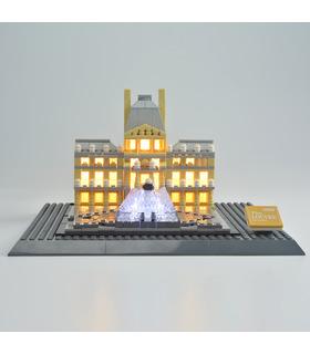Kit de luz Para Louvre Set de Iluminación LED 21024
