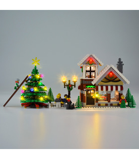 Licht-Kit Für den Winter Toy Shop-LED-Beleuchtungs-Set 10249
