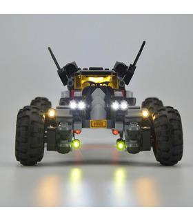 Kit d'éclairage Pour le FILM BATMAN La Batmobile Set de projecteurs à LED 70905