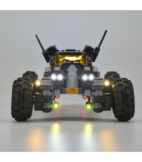 Licht-Kit Für BATMAN MOVIE Batmobil LED-Beleuchtungs-Set 70905