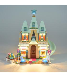 Kit d'éclairage Pour Disney Arendelle Château Célébration Set de projecteurs à LED 41068