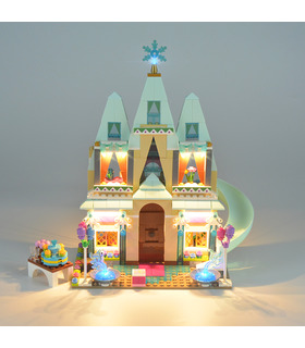 Light Kit For Disney Arendelle Castle Celebration LED Lighting Set 41068