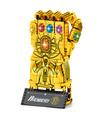 Benutzerdefinierte Golden Infinity Gauntlet Bausteine Spielzeug Set 1029 Stück