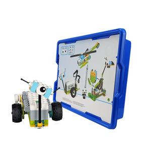 ロボティクス教育幹建設ビルの玩具を設定280枚に対応Wedo