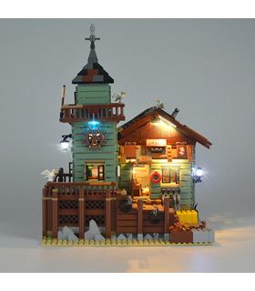 Kit d'éclairage Pour les Vieux Magasin de Pêche Set de projecteurs à LED 21310
