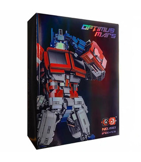 Custom MOC Optimus Prime Transforming Building Bricks Toy Set 2700 Pieces