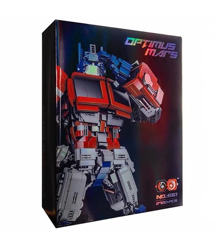 Personalizado MOC Optimus Prime Transformación de bloques de Construcción de Juguete Set de 2700 Piezas
