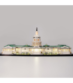 Light Kit For Architecture United States Capitol Building LED Lighting Set 21030