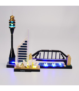 Light Kit For Architecture Sydney Skyline LED Lighting Set 21032