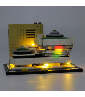 Light Kit For Solomon R. Guggenheim Museum LED Lighting Set 21035