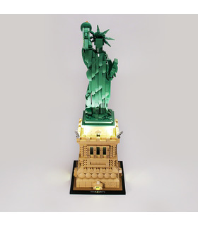 Light Kit For Architecture Statue of Liberty LED Lighting Set 21042