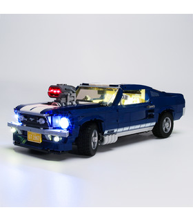Light Kit For Creator Expert Ford Mustang LED Lighting Set 10265