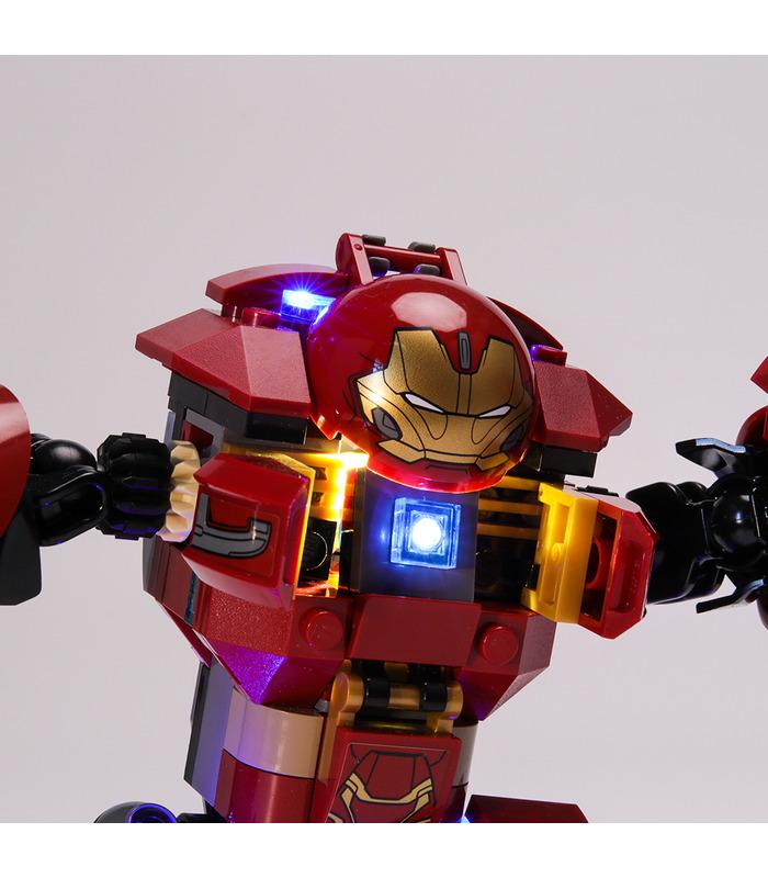Light Kit For The Hulkbuster Smash-Up LED Lighting Set 76104
