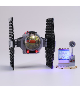 Kit d'éclairage pour kit d'éclairage LED TIE Fighter Attack 75237