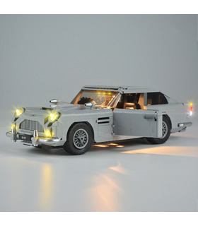 Light Kit For James Bond Aston Martin DB5 LED Lighting Set 10262