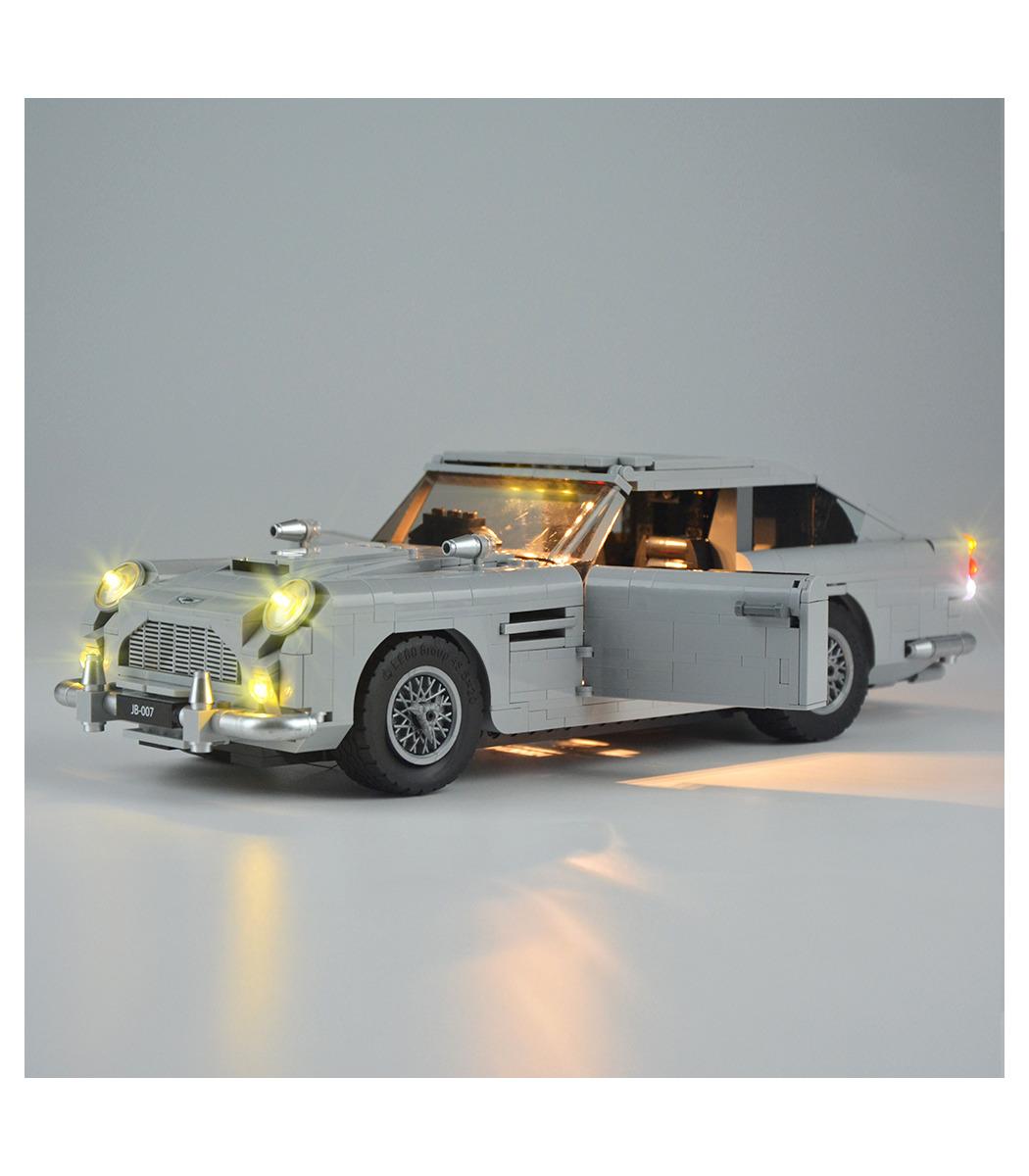 Licht Kit Für James Bond Aston Martin Db5 Led Beleuchtungs Set 10262 Buildingtoystore Com