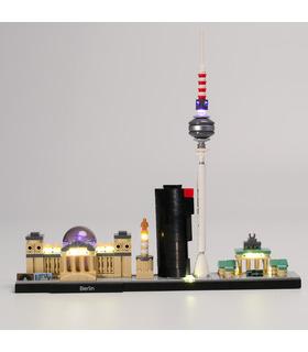 Light Kit For Architecture Berlin LED Highting Set 21027