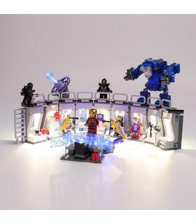 Light Kit For Iron Man Hall of Armor LED Lighting Set 76125