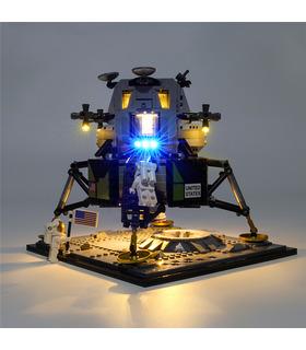 Light Kit For NASA Apollo 11 Lunar Lander LED Lighting Set 10266