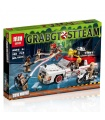 LEPIN 16032 Ghostbusters ecto-1 & ecto-2 Building Bricks Set