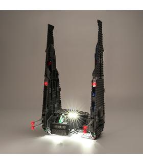 Light Kit For Kylo Ren's Command Shuttle LED Lighting Set 75104