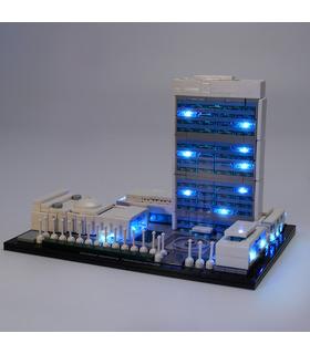 Light Kit For United Nations Headquarters LED Lighting Set 21018