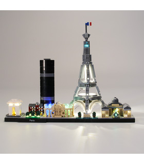 Light Kit For Architecture Paris LED Lighting Set 21044