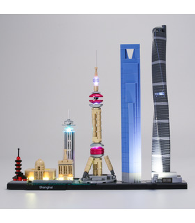 Light Kit For Architecture Shanghai LED Lighting Set 21039