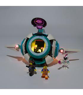 Kit d'éclairage Pour Sweet Mayhem de Systar Starship Set de projecteurs à LED 70830