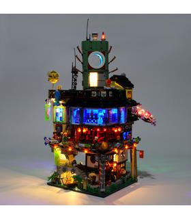 Light Kit For Ninjago City LED Lighting Set 70620