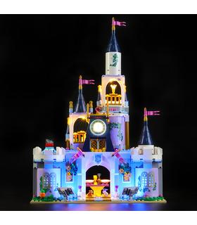 Light Kit For Disney Princess Cinderella's Dream Castle LED Lighting Set 41154