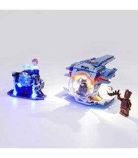 Kit d'éclairage Pour Thor de l'Arme de Quête Set de projecteurs à LED 76102