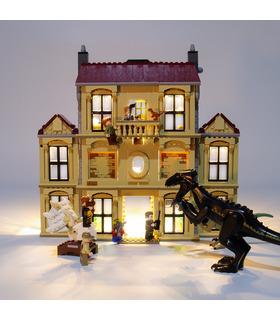 Light Kit For Indoraptor Rampage at Lockwood Estate LED Lighting Set 75930