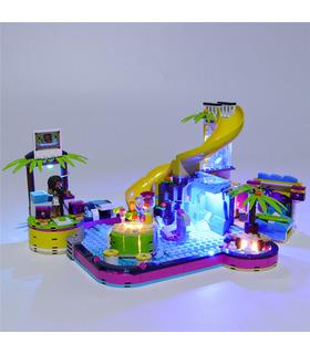 Light Kit For Friends Andrea's Pool Party LED Lighting Set 41374