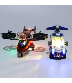 Light Kit For Sky Police Diamond Heist LED Lighting Set 60209