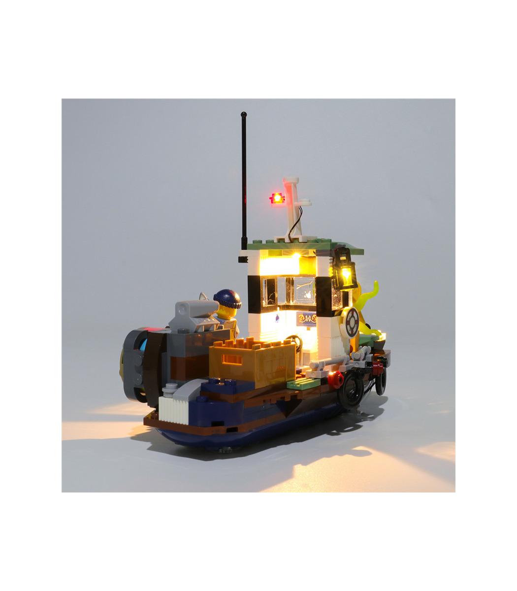 Kit D Eclairage Pour La Face Cachee Epave De Bateau De Crevettes Set De Projecteurs A Led 70419 Buildingtoystore Com