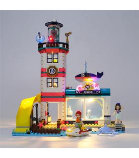 Light Kit For Lighthouse Rescue Center LED Lighting Set 41380