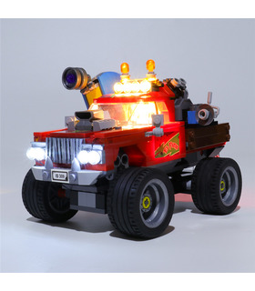 Light Kit For El Fuego's Stunt Truck LED Lighting Set 70421
